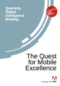 Cover Studie The Quest for Mobile Excellence