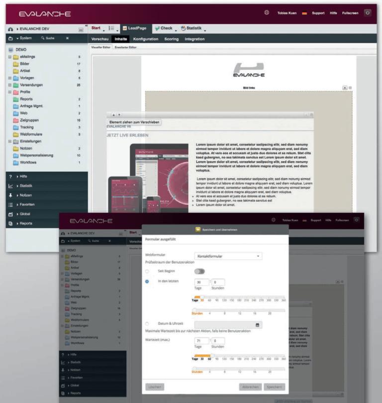 So erstellen Sie Lead Pages in der Marketing Automation Software