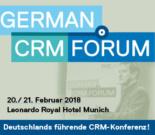 German CRM Forum 2018 Make Your Customers Smile