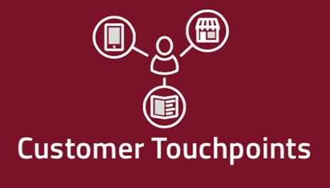 Customer Touchpoints in der Customer Experience Map