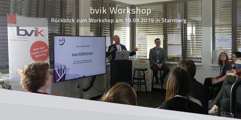 Rückblick: bvik Workshop Digital CXM