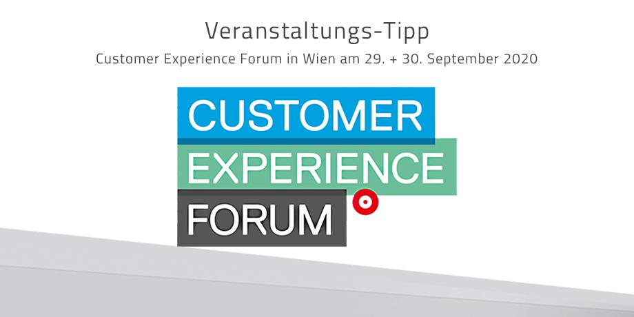 UPDATE: Customer Experience Forum in Wien