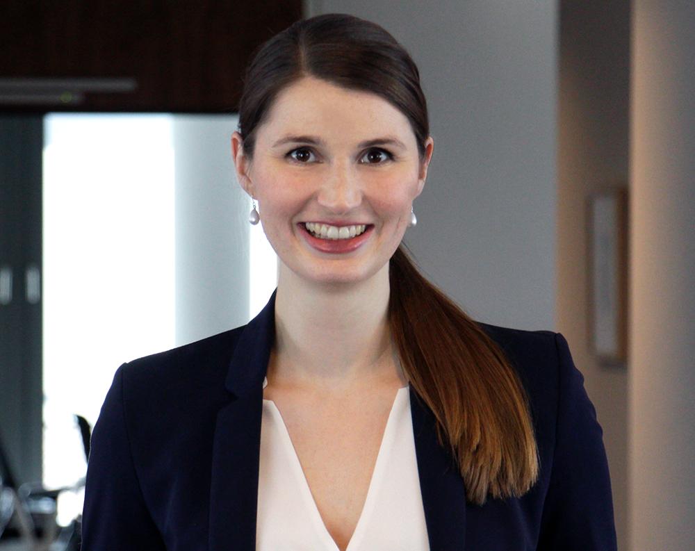 Kathrin Höne, Head of Corporate Communications