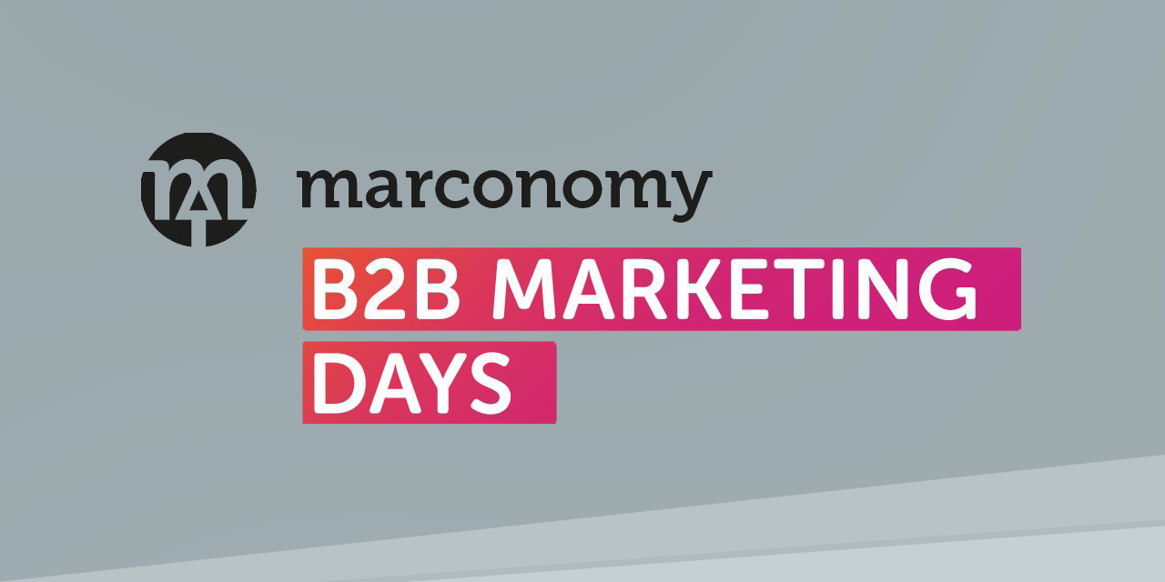 Die marconomy B2B Marketing Days 2020 in Würzburg