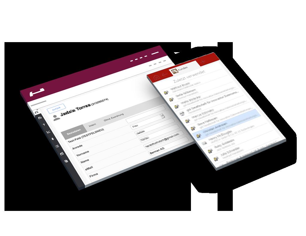 Evalanche Marketing und Sales Automation Plattform: Connect