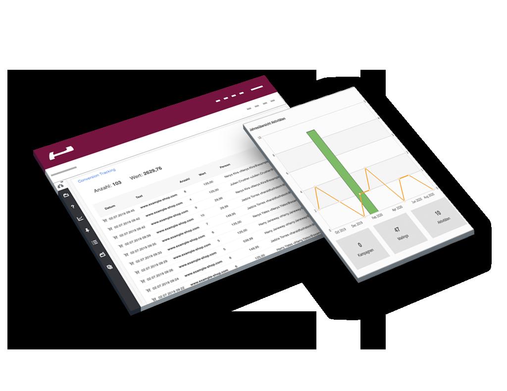 Evalanche Marketing und Sales Automation Plattform: Data