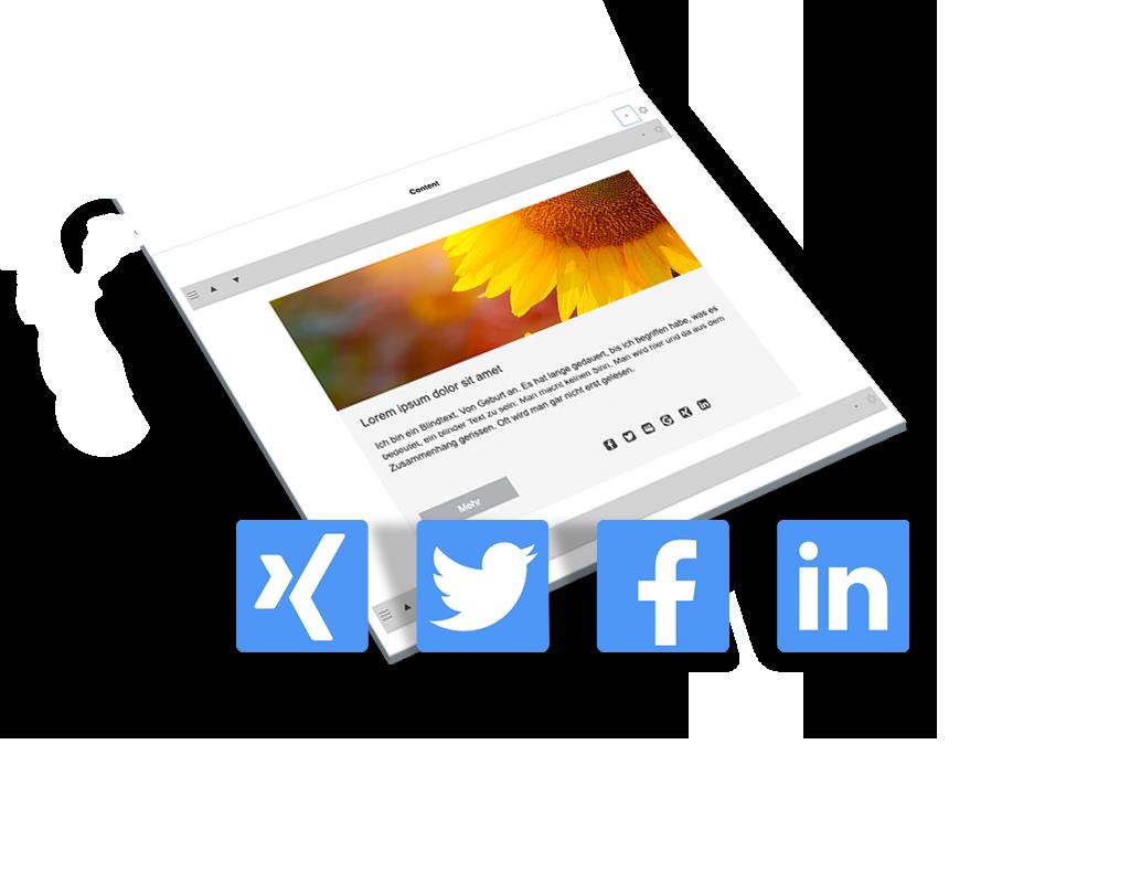 Crossmediale Kommunikation: Social Media