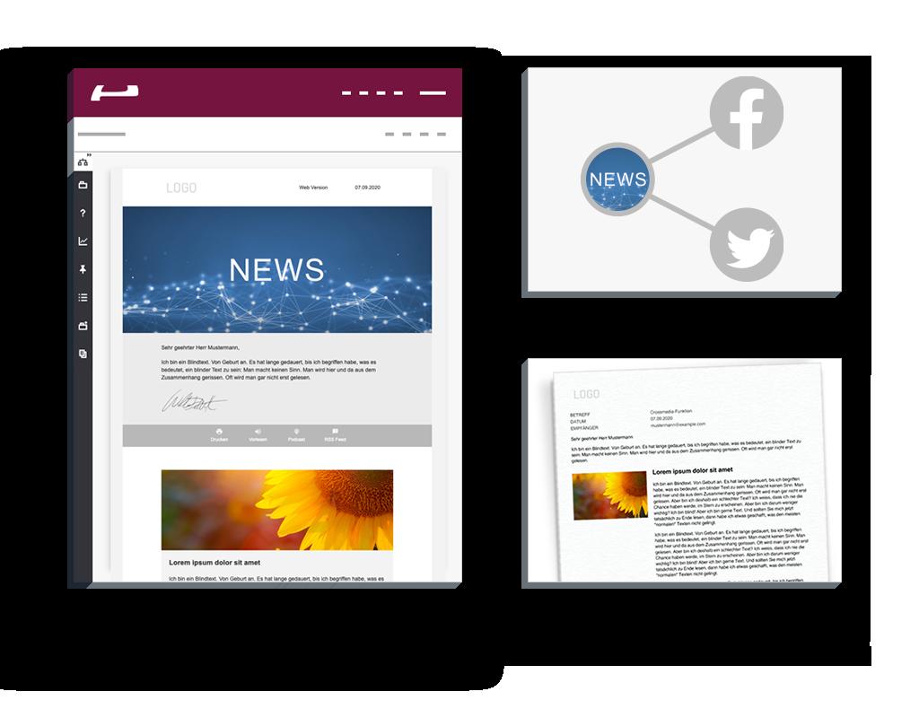 Crossmediale Kommunikation: E-Mail