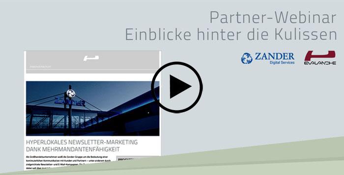 Partner-Webinar mit der Zander Gruppe