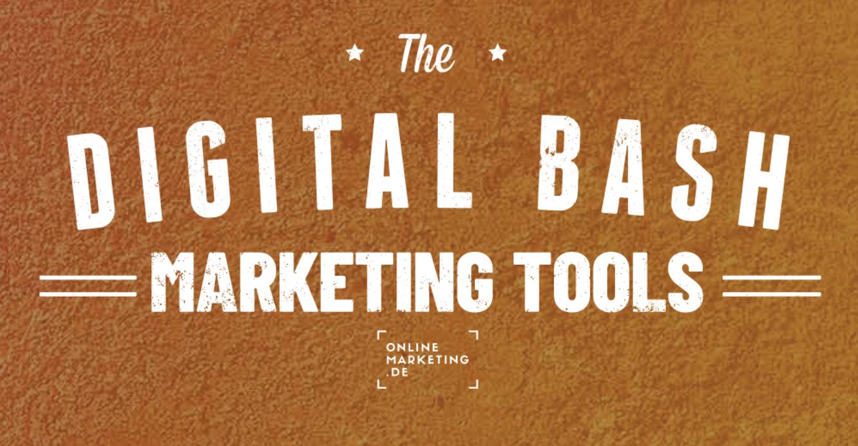 Digital Bash Marketing Tools