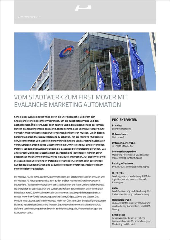 Anwenderbericht-PDF mit Mainova